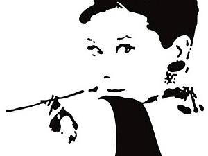 Одри Хепберн   Ярмарка Мастеров - ручная работа, handmade