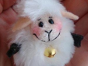 Маленькая миленькая быстрая овечка своими руками. Ярмарка Мастеров - ручная работа, handmade.