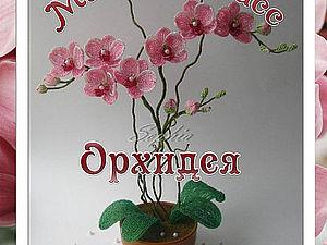 Орхидея из бисера. Ярмарка Мастеров - ручная работа, handmade.