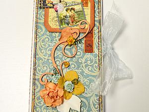 «Шоколадница-открытка на свободную тему». | Ярмарка Мастеров - ручная работа, handmade