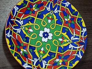 Тарелка-коврик (