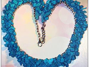 Ожерелье - воротник | Ярмарка Мастеров - ручная работа, handmade