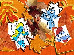 Встречайте Смурфиков Этой Осенью!!!!!!!!!!! | Ярмарка Мастеров - ручная работа, handmade