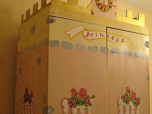 """""""Шкаф для Принцессы """" из обычного шкафа. Ярмарка Мастеров - ручная работа, handmade."""
