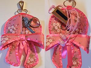 Шьем ключницу или сумочку для мелочей. Ярмарка Мастеров - ручная работа, handmade.