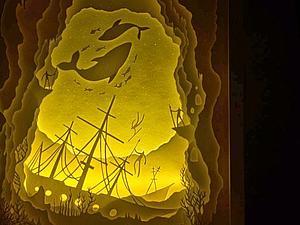 Удивительные многослойные картины из бумаги   Ярмарка Мастеров - ручная работа, handmade
