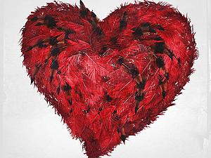 Цветотерапия, красный   Ярмарка Мастеров - ручная работа, handmade