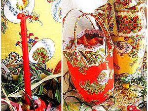 Пасхальная сумка-торба для кулича   Ярмарка Мастеров - ручная работа, handmade