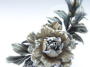 мастер-класс, авторские цветы