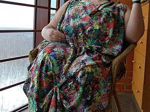 Февраль — время шить летнее платье-сарафан. Ярмарка Мастеров - ручная работа, handmade.