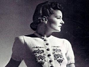 Ретро - настроение. Вязание, 1930-е... | Ярмарка Мастеров - ручная работа, handmade