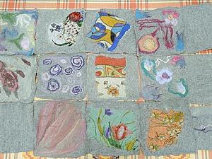 Отчет о мастер-классе «Войлочная азбука» Ирины Полубояриновой | Ярмарка Мастеров - ручная работа, handmade