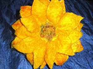 Валяние для новичков. Цветы - мак | Ярмарка Мастеров - ручная работа, handmade