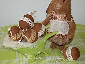 Пасхальные кролики | Ярмарка Мастеров - ручная работа, handmade
