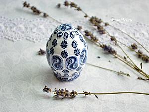 Пасхальное яйцо из полимерной глины. Мастер-класс   Ярмарка Мастеров - ручная работа, handmade