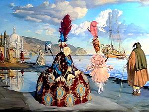 Венецианские фантазии Андрея Потеряйло | Ярмарка Мастеров - ручная работа, handmade