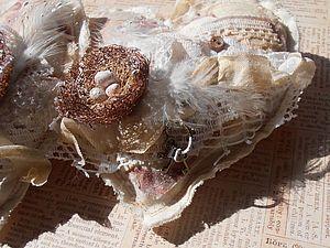 МК мягкие сердечки в стиле Шебби, Бохо, handmade
