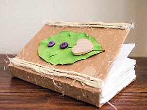 Универсальный блокнотик в подарок за час. Ярмарка Мастеров - ручная работа, handmade.