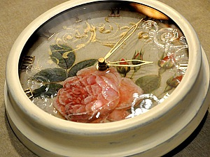 Декорирование часов с необычным стерео-эффектом. Часть 2. Ярмарка Мастеров - ручная работа, handmade.