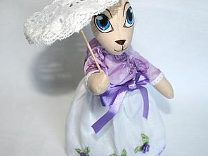 Делаем зонтик для куклы | Ярмарка Мастеров - ручная работа, handmade