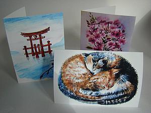 Пополнение ассортимента поздравительных открыток! | Ярмарка Мастеров - ручная работа, handmade