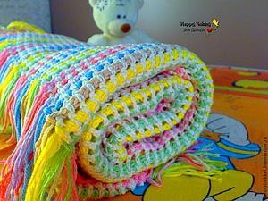 Аукцион! Мягкий детский плед+слингоигрушка! | Ярмарка Мастеров - ручная работа, handmade