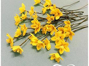 Создание полевых цветов из фоамирана: весенники. Ярмарка Мастеров - ручная работа, handmade.