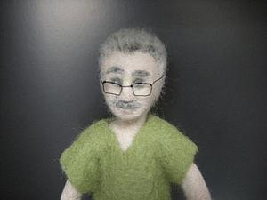 История создания почти портретной куклы | Ярмарка Мастеров - ручная работа, handmade
