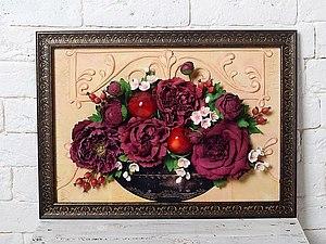 Картины из фоамирана мастер класс с пошаговым фото