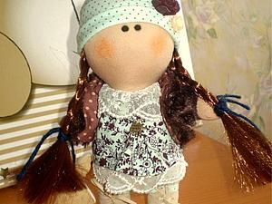 Моя первая кукляшка! | Ярмарка Мастеров - ручная работа, handmade
