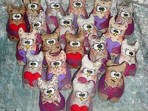 Совушка к 14 февраля | Ярмарка Мастеров - ручная работа, handmade