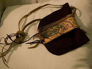 шейно -поясная сумочка-кошелёк из кожи   Ярмарка Мастеров - ручная работа, handmade