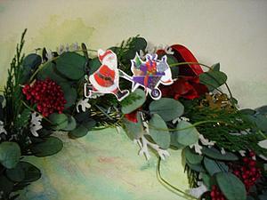 Мастерим рождественский венок &#8211&#x3B; символ вечного возрождения. Ярмарка Мастеров - ручная работа, handmade.