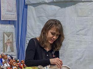 представляем участницу МАСТЕРской Надежду Ожигину - лоскутное панно, ручная сборка | Ярмарка Мастеров - ручная работа, handmade