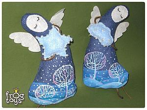 Рождественский ангел | Ярмарка Мастеров - ручная работа, handmade