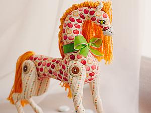 Конь в яблоко! | Ярмарка Мастеров - ручная работа, handmade