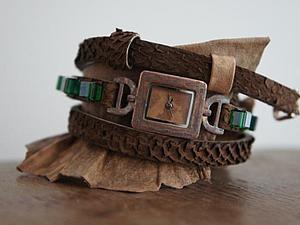 Ремешок для часов своими руками. Ярмарка Мастеров - ручная работа, handmade.