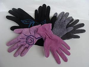 тонкие перчатки на  резинке | Ярмарка Мастеров - ручная работа, handmade
