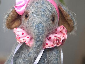 Аукцион...слоняшка Эва | Ярмарка Мастеров - ручная работа, handmade