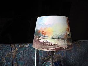 Акварельная роспись абажуров | Ярмарка Мастеров - ручная работа, handmade