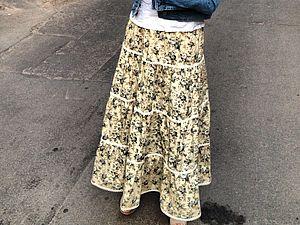 Расчет ярусов у юбки