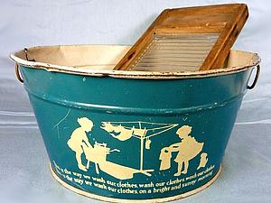 «Большая стирка»: о кадушках, прищепках, стиральных досках и декоре дома и сада. Ярмарка Мастеров - ручная работа, handmade.