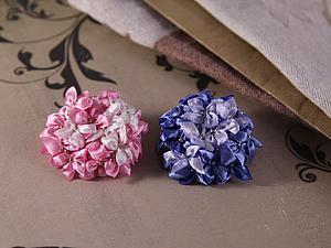Делаем цветки сирени в технике канзаши. Ярмарка Мастеров - ручная работа, handmade.