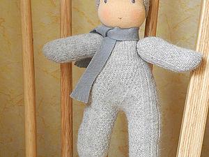 Вальдорфская кукла в комбинезончике. Ярмарка Мастеров - ручная работа, handmade.