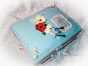 Фотоальбом на Юбилей 80-летия, для Мамы. Подробные фото | Ярмарка Мастеров - ручная работа, handmade
