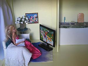 Делаем красивый дом и мебель для кукол Барби. Ярмарка Мастеров - ручная работа, handmade.