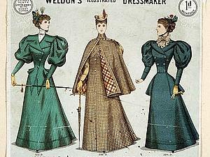Платье для поездки в экипаже. XIX век. Ярмарка Мастеров - ручная работа, handmade.