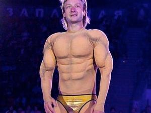 «Sex Bomb» костюм театральный для фигуриста, по мотивам номера Евгения Плющенко