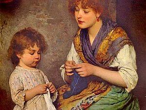 Вязание актуально всегда! От древних времен до наших дней. Ярмарка Мастеров - ручная работа, handmade.