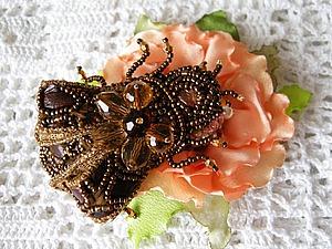 Мои новые работы мушки и жуки)   Ярмарка Мастеров - ручная работа, handmade